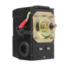 Air Compressor Pressure Switch Control Valve 95-125 PSI Single Port On/Off Lever