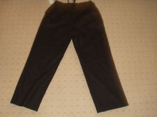 ANTHEA TURNER GREY WOOL BLEND LOOSE FIT TROUSERS NEW £30 TAGS