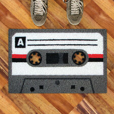 Tape A Doormat from Meninos. Cool retro cassette doormat, Fun Gift!