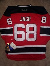 ($100) STITCHED/SEWN Devils JAROMIR JAGR nhl Hockey THROWBACK Jersey YOUTH xl