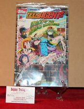 "Topps Comics -Jack Kirby's Teen AGENTs #2 (of 4) 1993 ""All 3Trading Cards"""