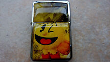 PAC MAN CUTE STAR BRAND LIGHTER VIDEO GAME VINTAGE OLD  & EXTRA ZIPPO FLINTS