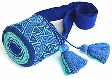 AUTHENTIC MOCHILA WAYUU / SMALL SIZE / FINEST QUALITY / HANDMADE CROSS BODY BAG