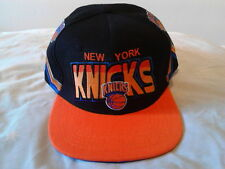 New York Knicks NBA Team Short Mitchell and Ness Snapback Hat Cap Black