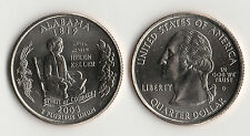 ETATS UNIS @ USA @ QUARTER DOLLAR ALABAMA 2003 D USA NEUF @ UNC QUARTER @ RARE