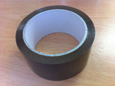 12 Rolls Brown Packaging Parcel Tape Long 48mm x 66m High Quality Tape Cheap