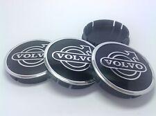 VOLVO Cache Moyeux Centres de Roue Alu Emblem 4p x 60mm/55mm  *NEUF*