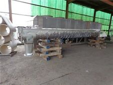 "SEGLER STAINLESS SCREW CONVEYOR 36"" 30 HP GEARMOTOR 40 FRPM SN SC-5617 17509B002"