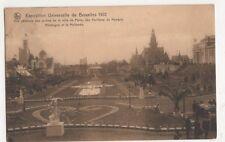 Belgium, Expostion Universelle de Bruxelles 1910 Postcard, B274