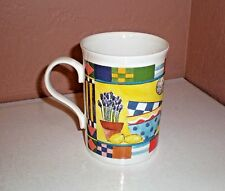 "Crown Trent Fine Bone China Mug/Beaker ""Cooking Theme Design"" Made in England"