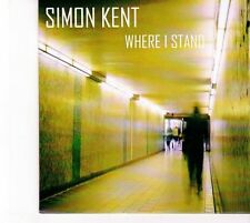 (DZ550) Simon Kent, Where I Stand - 2013 DJ CD