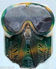Army Goggles Face Mask Soldier Zombie Fancy Dress Costume Accessory