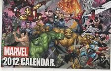 MARVEL2011/ 2012 COLLECTABLE CALENDARS  UNUSED MINT