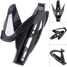 Portable Carbon Fiber Bike Glass Water Bottle Holder Cages-black New