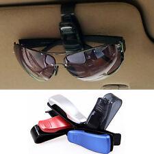 1PC Mode Autozubehör Masken-Sonnenbrille-Brillen-Karten-Feder-Halter-Klipp