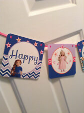 American Girl Doll Happy Birthday Banner Saige Julie Caroline Molly Kit NEW