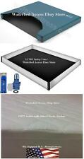 Super Single Free Flow Waterbed Mattress W/ 12 Mil Liner, Cotton Pad & Fill Kit