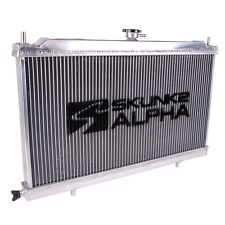 Skunk2 Alpha Series Aluminum Radiator w Cap For 88-91 Honda Civic CRX M/T