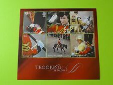 Stamps Great Britain * SC 2293a * SS * Trooping the Colour * Queen Elizabeth