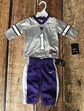 NIKE KANSAS STATE WILDCATS JERSEY PANTS COMBO BABY 6 - 9 MONTHS NEW WITH TAGS