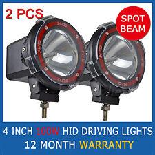 "2PCS 100W 4"" HID XENON Driving Lights 4 INCH OFFROAD Spotlight 12V 4x4 Big Power"