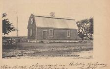 Antique POSTCARD c1905 Revolutionary War Office Library LEBANON, CT 18022