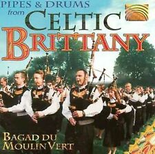 Bagad Du Moulin Vert-Pipes & Drums From Celtic Brit CD NEW