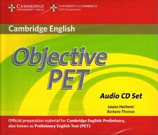 CAMBRIDGE Objective PET PRELIMINARY ENGLISH TEST Audio CD Set SECOND Edition NEW