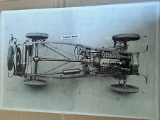 "12 By 18"" Black & White Picture 1932 FORD OVERHEAD VIEW OF COMPLETE CHASSIS"