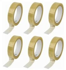 6x clear selotape packing tape 25mm x 66mm Packing Tape Letters Parcel UK SELLER