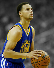 Golden State Warriors STEPHEN CURRY Glossy 8x10 Photo Spotlight Print Poster