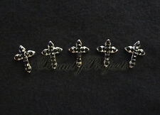 (5pcs) nail art 3D black cross charm rhinestone charms acrylic nails gel A210