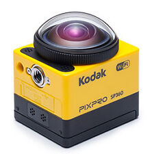 Kodak PIXPRO SP360 4K Premier Pack Action Cam with Accessories (New In Box)