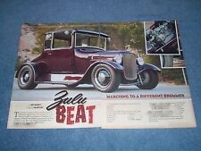 """1927 Ford Model T Coupe Hot Rod Article """"Zulu Beat"""" Tall T"""