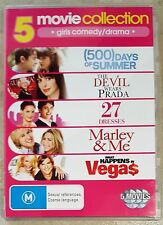 500 Days Of Summer-Devil Wears Prada-27 Dresses-Marley & Me-Happens In Vegas