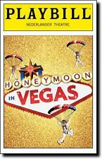 Color Playbill Honeymoon in Vegas Tony Danza Rob McClure Jason Robert Brown 2015