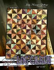 Judy Niemeyer Split Log Cabin  Foundation Paper Pieced Quilt Pattern