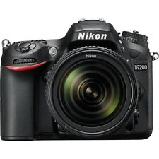 Nikon D7200 24MP DSLR Camera + Nikon 18-55mm VR II Lens