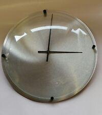 """NeXtime - """"Bolglas"""" Wall Clock 38cm Diameter Silver"""