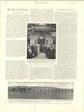 1899 Surrender Fort Chabrol Guerin Gives Up German Army Cyclists