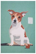 Geschirrtuch Hund Dog Jack Russell von Ulster Weavers, Küchenhandtuch