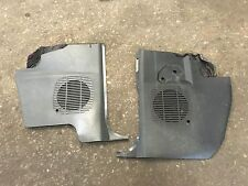 BMW E30 325i Anthracite Grey Front Speaker Grills Covers Black 323  320 318 316