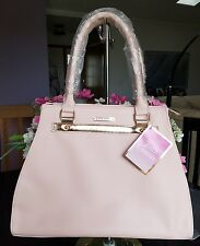 NEW JUICY COUTURE TOTE SHOULDER BAG HAND BAG PINK/GOLD LARGE