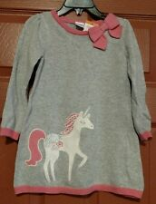 gymboree cozy fairytale unicorn sweater dress size 12-18 mos. nwt