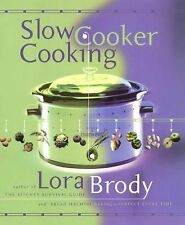 Lora Brody - Slow Cooker Cooking (2001) - Used - Trade Cloth (Hardcover)