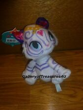 "Nickelodeon Shimmer and Shine NAHAL Plush 6 - 7"" White Bengal Tiger Doll"