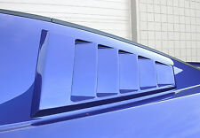 2005-2014 Ford Mustang C-Pillar Scoops - Louvered - Classic Design Concepts