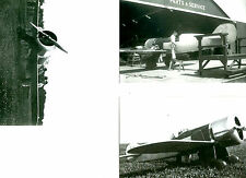 3: WEDELL WILLIAMS AIRPLANE 1932 TURNER'S 1ST RACING AIRPLANE PHOTOGRAPH SET #73
