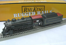 MTH 30-4226-1E RAILKING PRR 2-8-0 STEAM ENGINE & TENDER PROTO 3 o gauge train