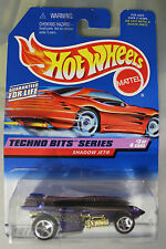 Hot Wheels 1:64 Scale 1997 Techno Bits Series SHADOW JET